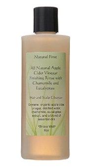 Natural First Apple Cider Vinegar Rinse