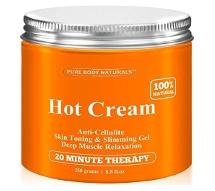 Pure Body Naturals Hot Cream Reviews