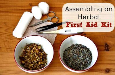 Assembling an Herbal First Aid Kit